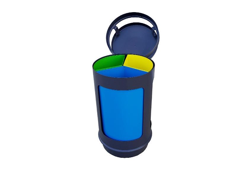 Papelera reciclaje 486-3R