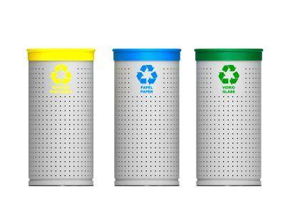 Papeleras para reciclaje